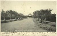Phoenix AZ Indian School Grounds Main Entrance c1905 Postcard