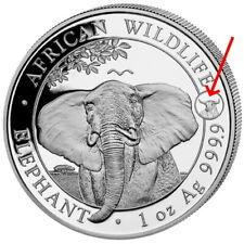 2021 ELEPHANT with OX privy mark 1 oz Silver Coin Somalia