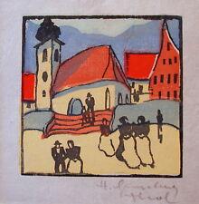 """Herbert Gurschner """"Kirchgang"""""""