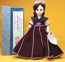 """First Lady Doll Collection III 13"""" Mary Todd Lincoln Doll 1517 Madame Alexander"""