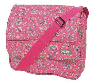 Hi Tech Purple and Pink Floral Textile Bag HT-1609