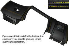 YELLOW STITCH LOWER DASH DASHBOARD TRIM SKIN COVERS FITS BMW 5 SERIES E39 95-03