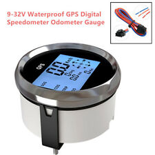 9-32V DC GPS Digital Speedometer Odometer Gauge Universal For Car Truck Marine