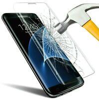 Film Verre Trempé pour Samsung Galaxy S7 Edge Courbé Protection Totale HD