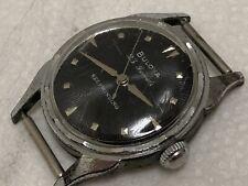 wristwatch BULOVA 23 J 6 automatic s. steel back 10BOAC fancy lugs SUNBURST