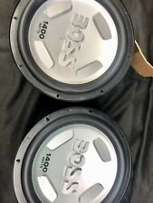 Boss Audio Systems pair of speakers CX122    1400 watt at 4 ohms