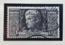 N927 1923 Francobolli Stamps Regno Italia Augusto PA 5+1