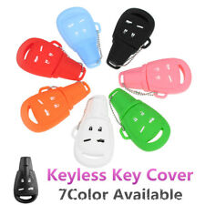 4 Button Silicone Remote Key Fob Cover Case Shell For Saab 9-3 9-5 03-15