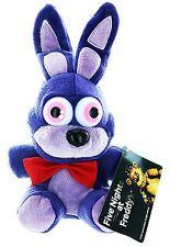 "Five Nights at Freddy's 6"" Bonnie Purple Rabbit Plush-FNF 6"" Bonnie Plush-New!"