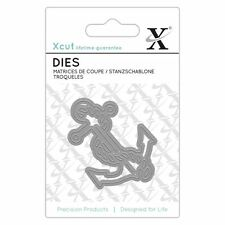 Xcut (Docrafts) Mini Paper Card Scrapbook Craft Metal Die (1 Piece) - Anchor