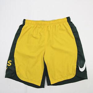 Oakland Athletics Nike MLB Authentic Athletic Shorts Men's Green/Gold Used