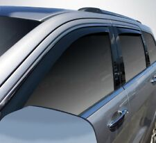 In-Channel Vent Visors for a 2011 - 2018 Jeep Grand Cherokee