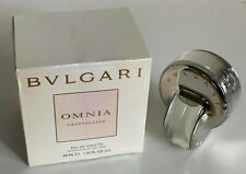 NEW! BVLGARI BULGARI OMNIA CRYSTALLINE EAU DE TOILETTE EDT PERFUME 40ML SALE
