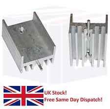 2x Aluminio ts-220 Disipador De Calor 21x15x10mm (Con Pin) Para Transistores y otras IC