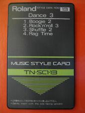 Roland TN-SC1-13 Dance3 Boogie Shuffle Ragtime ROM RA E-70 E20 E5 RA50 90 KR650