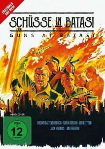 Schüsse in Batasi [DVD/NEU/OVP] Richard Attenborough, Jack Hawkins, Flora Ro