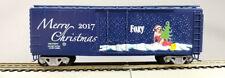"HO Con-Cor 2017 Christmas Collector's car, Santa's Helper ""Foxy"", KIT(1-000159)"