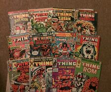 Marvel Two-in-One comic book lot!HUGE! Starring the Thing(Marvel,1980s)