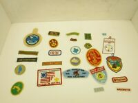 Boy Scout Patches Lot of 25 Various Patches  BSA  BL46-4