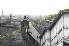 Radford Railway Station Photo. Nottingham to Basford and Trowell Lines. (3)