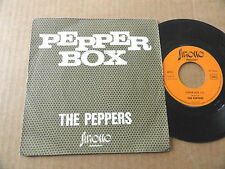 "DISQUE 45T DE  THE PEPPERS  "" PEPPER BOX """