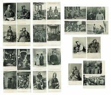 25 x Russia N. Novgorod Peasant Types by M. Dmitriev 1900s
