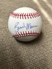 BRANDON MORROW AUTOGRAPHED SIGNED MAJOR LEAGUE BASEBALL Ball OML Chicago Cubs