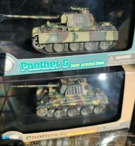 Dragon Armor 1/72 Lot of 2, Rare Panther G Last Panther and Western Front