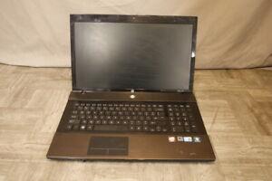 HP ProBook 4720S i3-M380@2.53GHz, 4GB RAM, NO HDD/OS (Grade C)