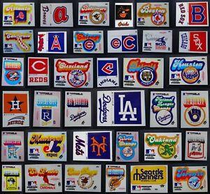 1979 Fleer Grand Slam Baseball Hi-Gloss Stickers Complete Your Set You U Pick