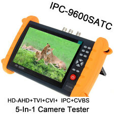 """7"""" Touch Screen HD-TVI/CVI IP Camera Tester Monitor WIFI IP industry For CCTV"""
