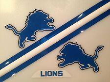 Detroit Lions Football Helmet Decals Speed Set NFL FULL SIZE SANDERS THROWBACK 1