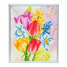 Crystal Art Silver Picture Frame Kit, 21 x 25cm