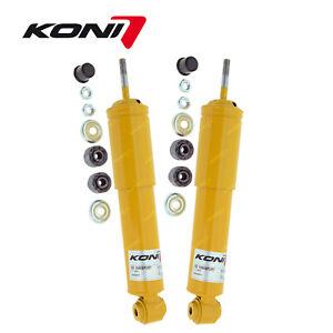 2 x Front KONI Sport Adj Shocks for Holden Gemini TX TC TD TE TF TG Piazza YB