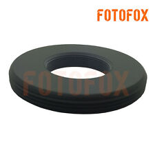 Adapter RMS Microscope objective to male M42 X0.75 adapter Flat without flange