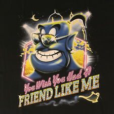 Shirtpunch Aladdin Genie You Wish You Had A Friend Like Me Shirt Size XL