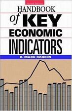 The Handbook of Key Economic Indicators R. Mark Rogers 1998,Hardcover Reduced!!!