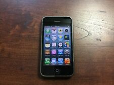 iPhone 3GS - 8GB - Black (AT&T) A1303 (GSM) - Works and looks good!