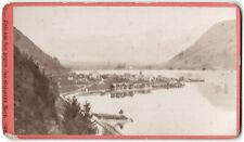 Zell am See. Würthle & Spinnhirn. Orig.-CdV-Photo um 1880