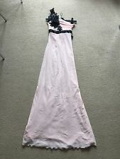 STUNNING ❤️ JANE NORMAN  £65 Pale Pink Long dress Party Ball Prom Size 6