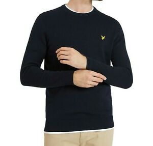 LYLE & SCOTT Men's  Long Sleeves Crew Neck Jumper | Amazing Winter Collections