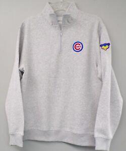 Chicago Cubs MLB Baseball Mens 1/4 Zip Pullover XS-4XL, LT-4XLT New