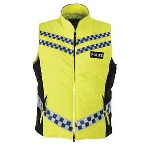 EQUISAFETY POLITE Hi-Vis Unisex Gilet XXL BNWT Yellow Discontinued £69.99