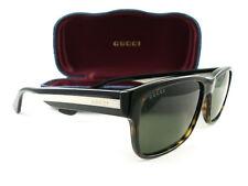 Novo Óculos de Sol Gucci GG0340S 008 Havana Verde Autêntico 8fbaed84db