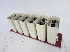 Ge 246b9953bm G02 Lot Of 6 A97f8731 Capacitor Bank Module 12uf 2000vac 3000vdc