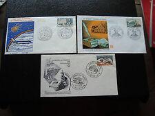 FRANCE- 3 enveloppes 1965/1966 (cy40) french