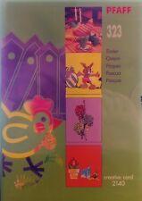 PFAFF Creative Card 323 Easter - NEW!!