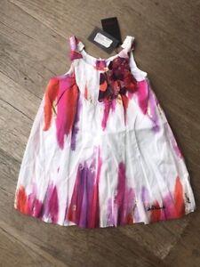 Catimini Girls dresses BNWT RRP £48 ‼️‼️NOW £25 ‼️‼️‼️