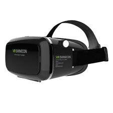 3D VR Headset Virtual Reality Box w/ Adjustable Lens Strap for iPhone 6 plu N9Y9