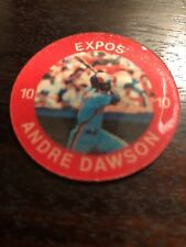 1984 7/11 Andre Dawson Slurpee Coin #1 Montreal Expos